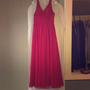Only worn once as a bridesmaids dress